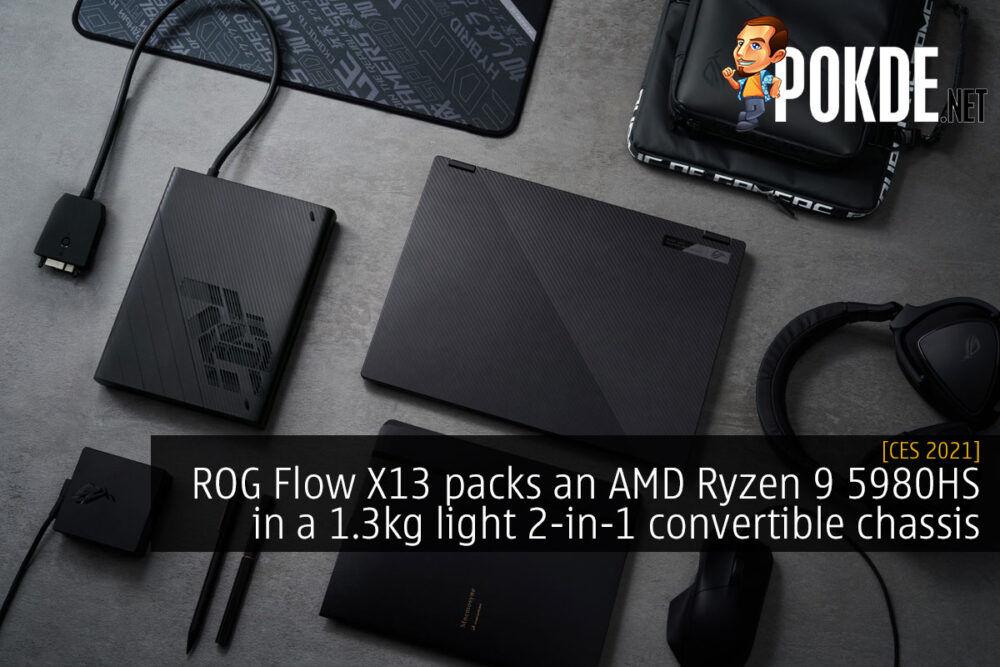ROG Flow X13 CES 2021 cover