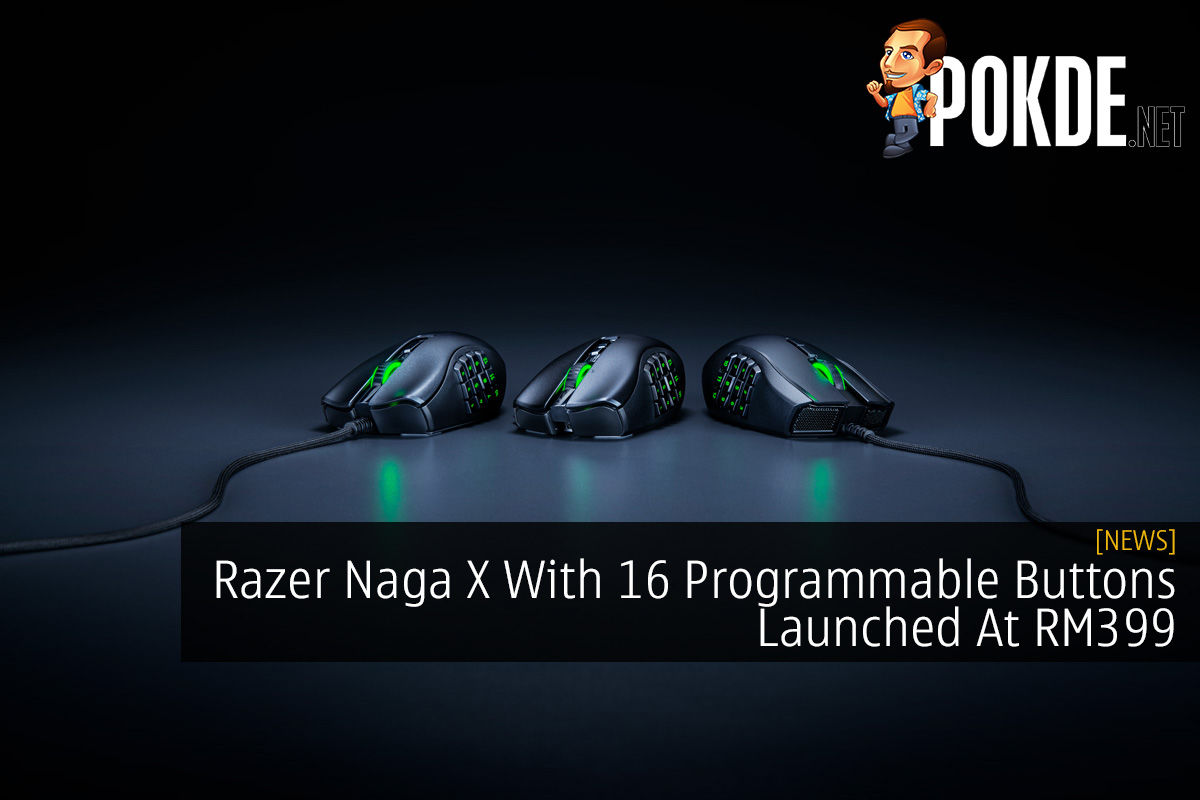 Razer Naga X With 16 Programmable Buttons Launched At RM399 4