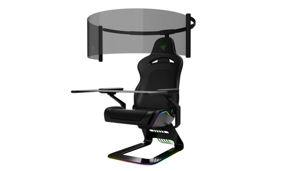 CES 2021: Razer Unveils Smart Mask And Gaming Chair With Rollout Display 27