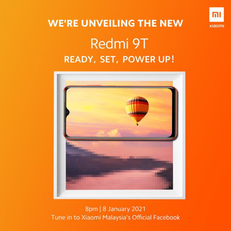 Redmi 9T launch teaser