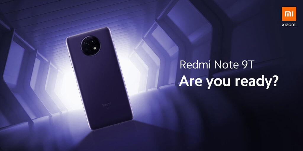 Redmi Note 9T back