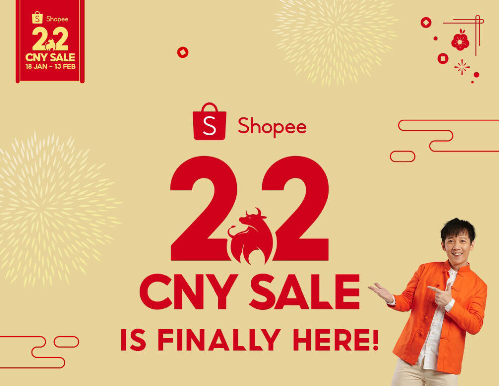 Shopee 2.2 CNY Sale Running With RM8,888 Up For Grabs 20