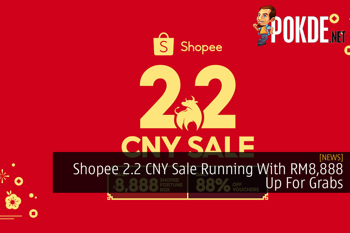Shopee 2.2 CNY Sale Running With RM8,888 Up For Grabs 3