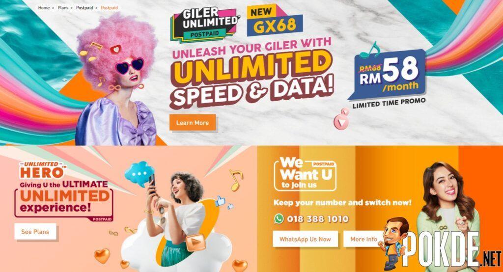 U Mobile Postpaid Plans