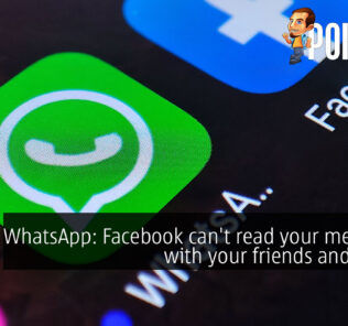 WhatsApp facebook secure encryption cover