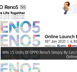 Win 15 Units Of OPPO Reno5 Simply By Catching The Online Launch 83