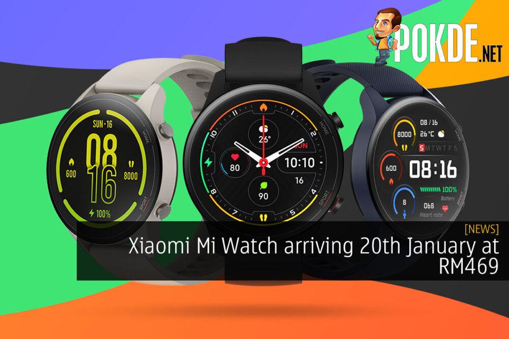 Xiaomi Mi Watch Malaysia price cover