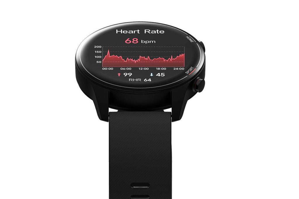 Xiaomi Mi Watch heart rate