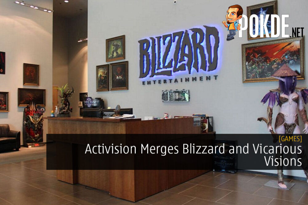 Activision Merges Blizzard and Vicarious Visions 24