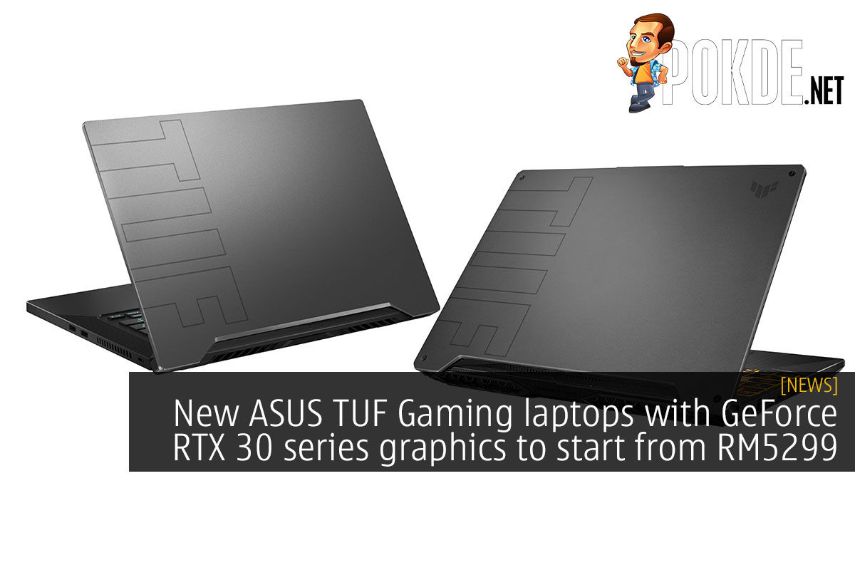 asus tuf gaming geforce rtx 30 series rm5299 cover