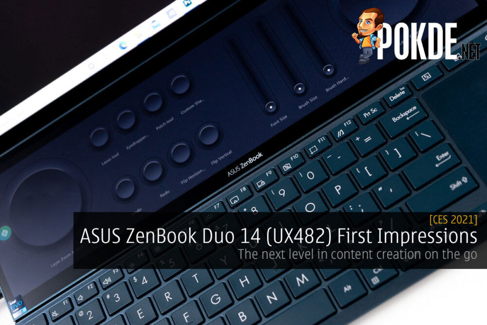 ASUS ZenBook Duo 14 (UX482) First Impressions — the next level in content creation on the go 23