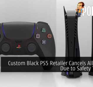 Custom Black PS5 Retailer Cancels All Orders Due to Safety Threats