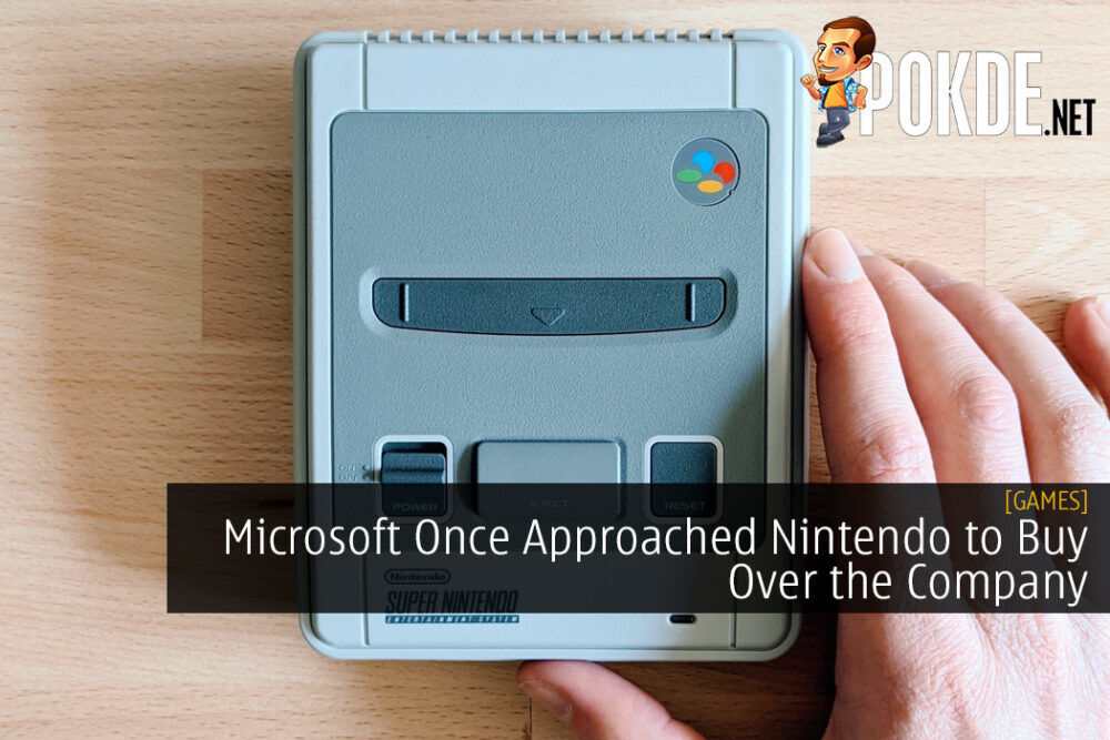 Microsoft Once Approached Nintendo to Buy Over the Company