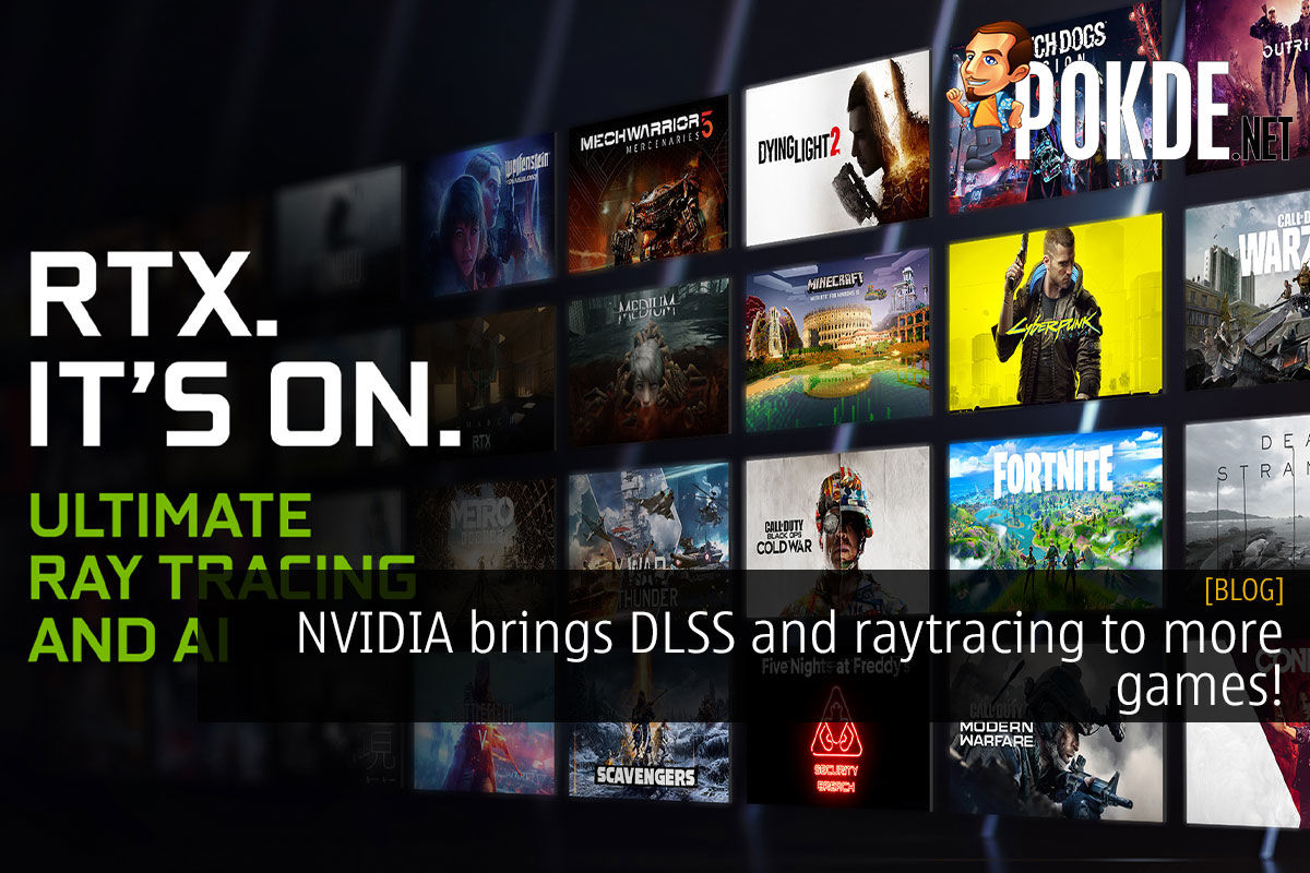 NVIDIA brings DLSS and raytracing to more games! 8