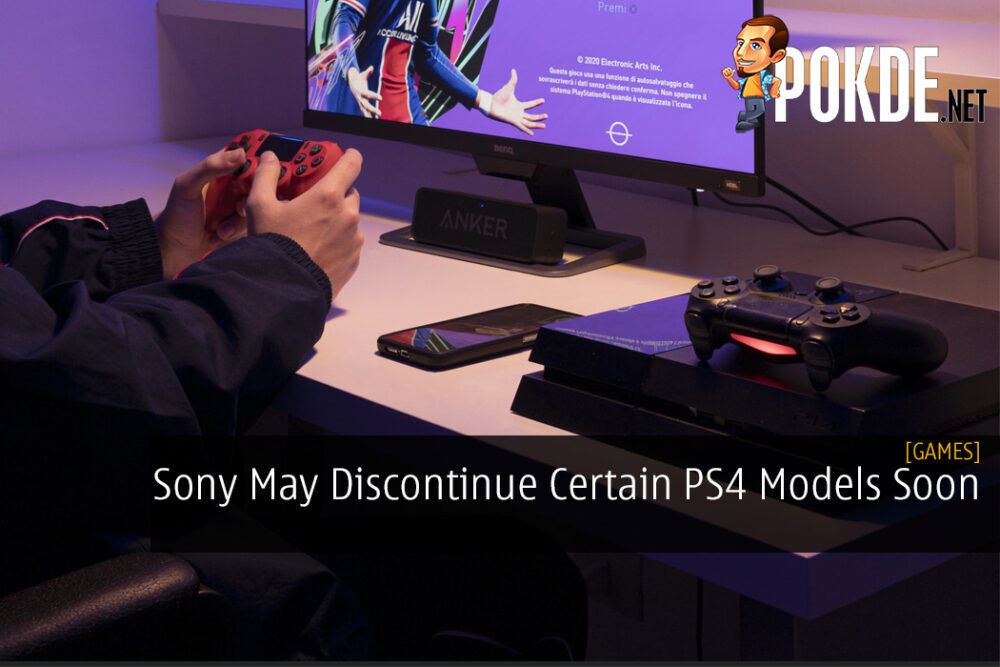 Sony May Discontinue Certain PS4 Models Soon