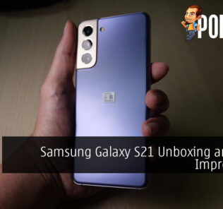 Samsung Galaxy S21 Unboxing and First Impressions