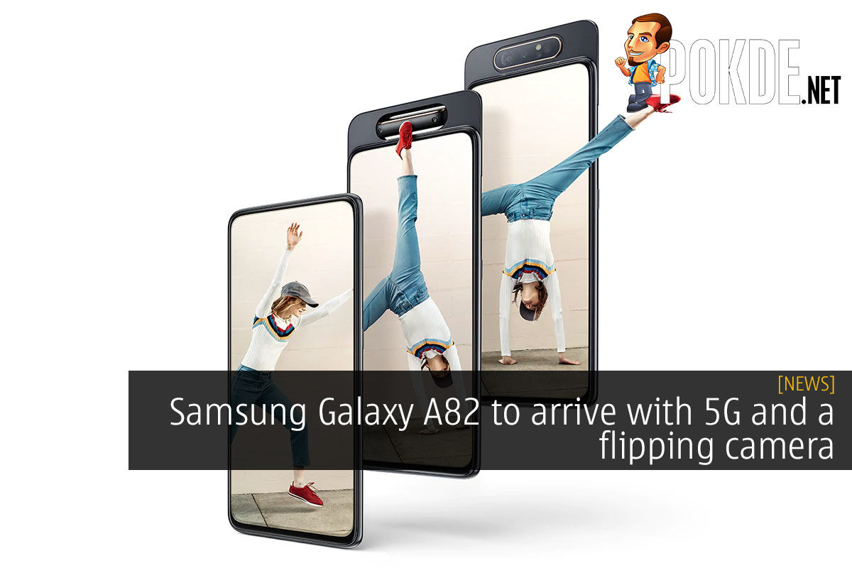 Samsung Galaxy A82 to arrive with 5G and a flipping camera 6