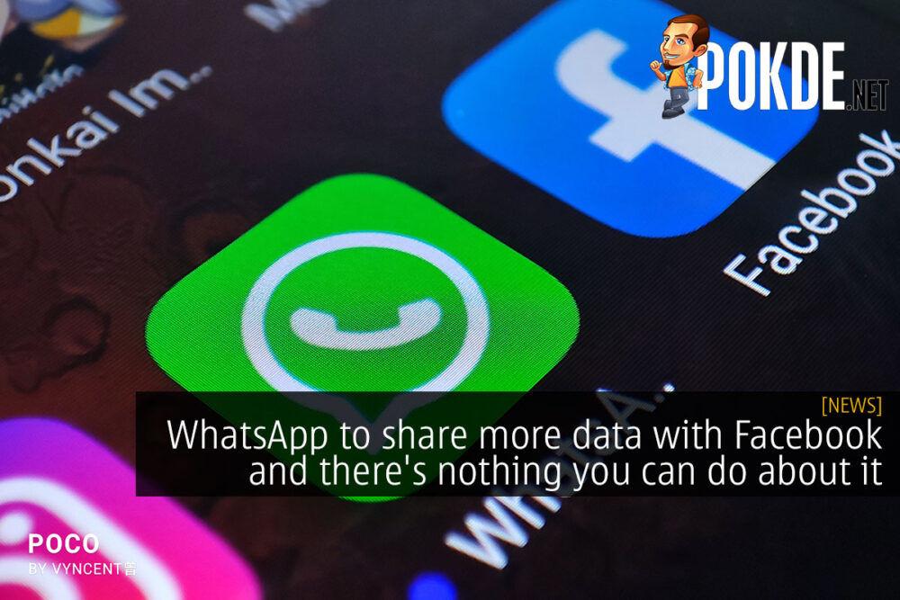 whatsapp facebook share data cover