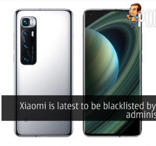 xiaomi blacklisted trump cover