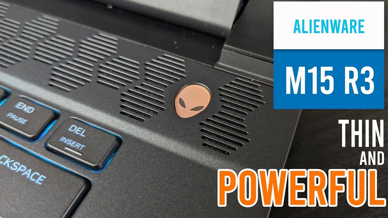 Alienware m15 R3 Unboxing and First Impressions 13