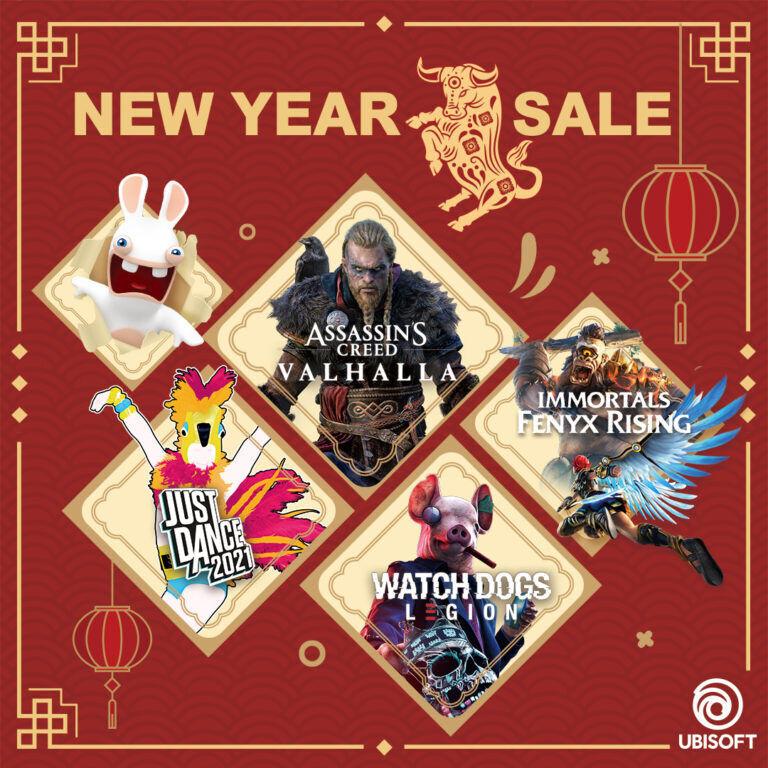 Ubisoft Lunar New Year Sale 2021