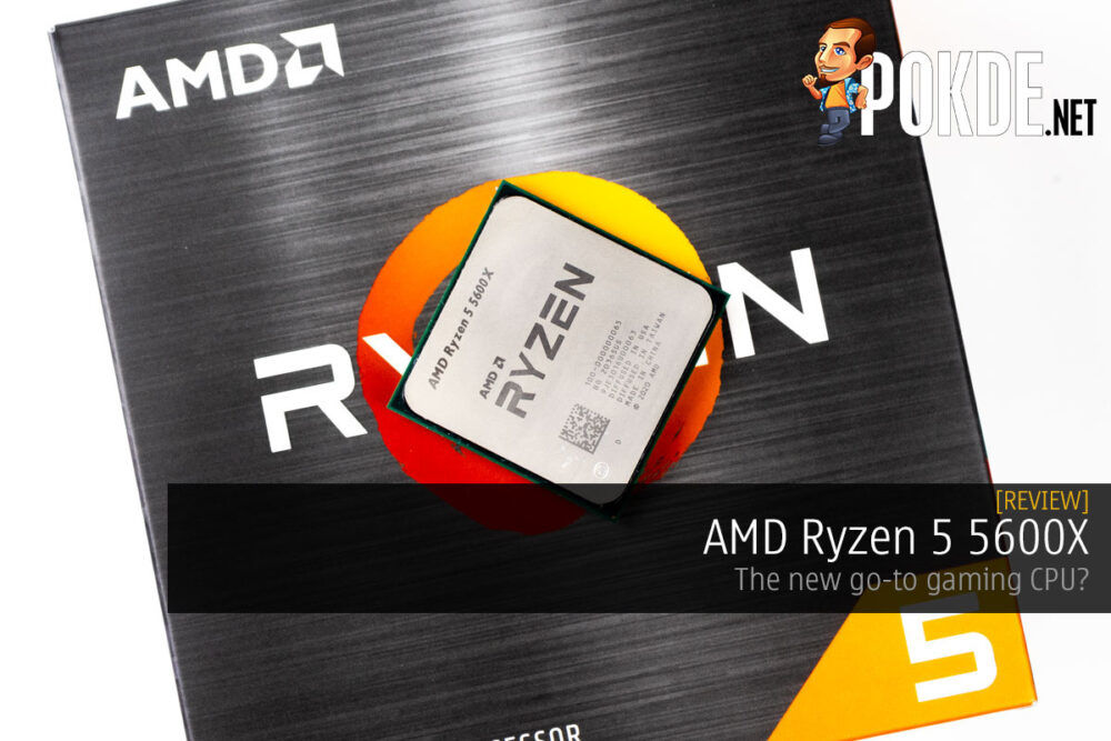 AMD Ryzen 5 5600X review cover