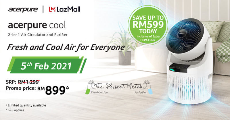 Acer Malaysia Unveils The 2-in-1 acerpure cool Air Purifier 24
