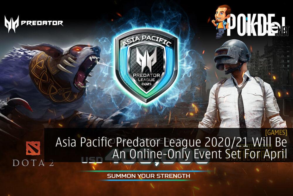Asia Pacific Predator League 2020/21 cover