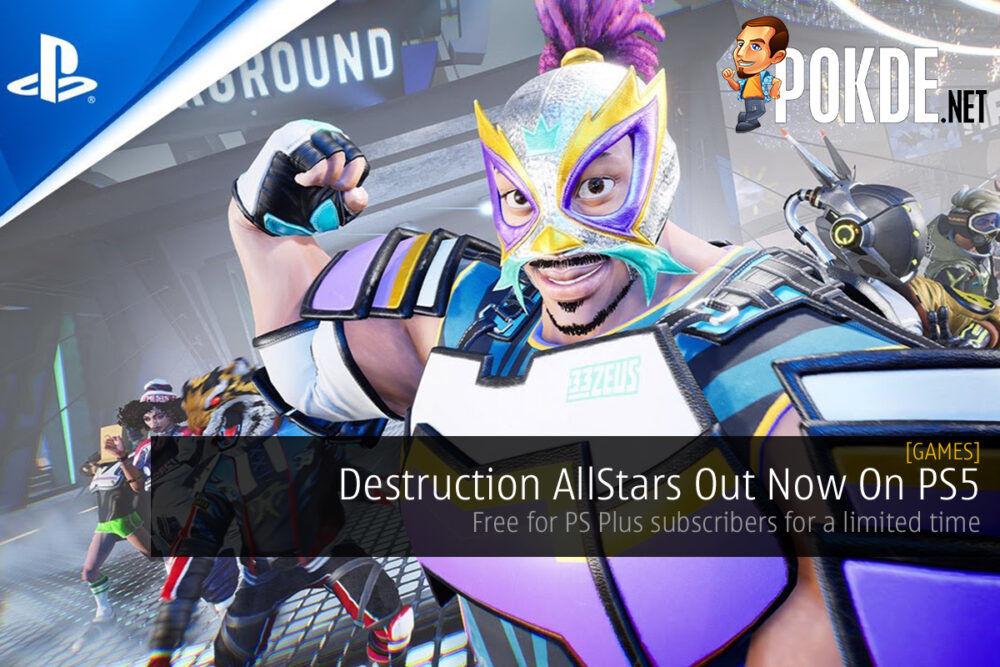 Destruction AllStars cover