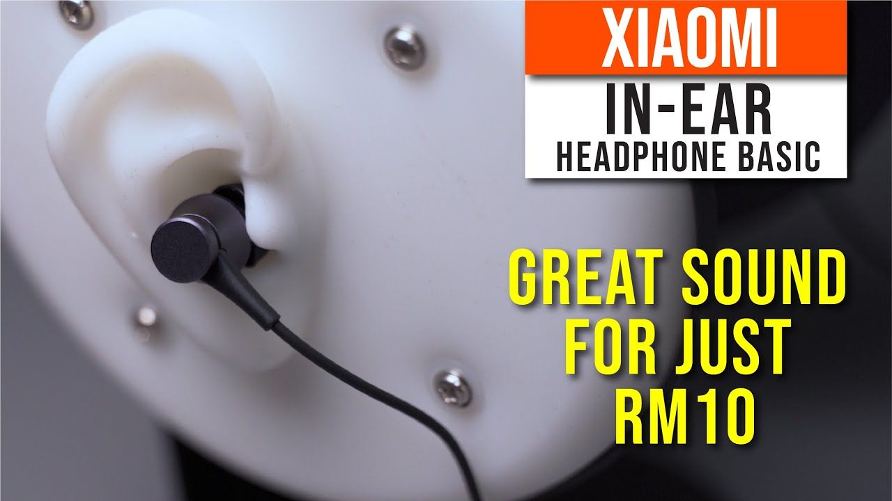 Xiaomi In-ear headphones basic review - Best budget Sound for just RM10 15