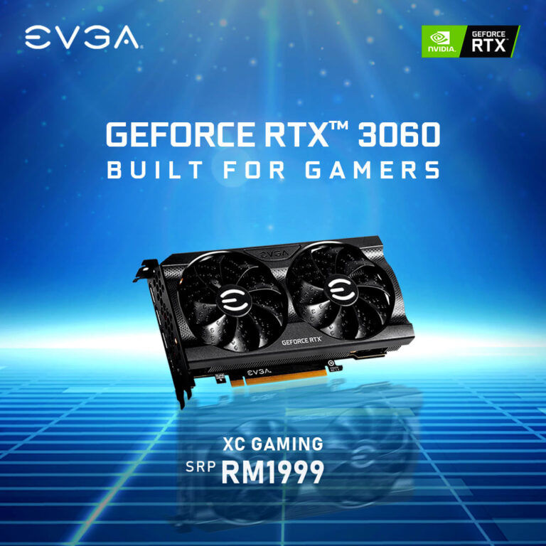 EVGA GeForce RTX 3060 XC Gaming