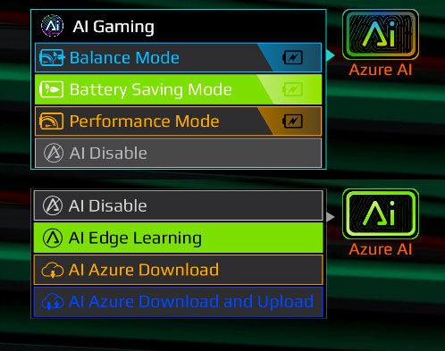 GIGABYTE AORUS 15G XC review Azure AI