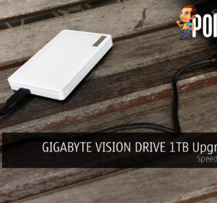 GIGABYTE VISION DRIVE 1TB Upgrade Kit Review — Speed On The Go 19