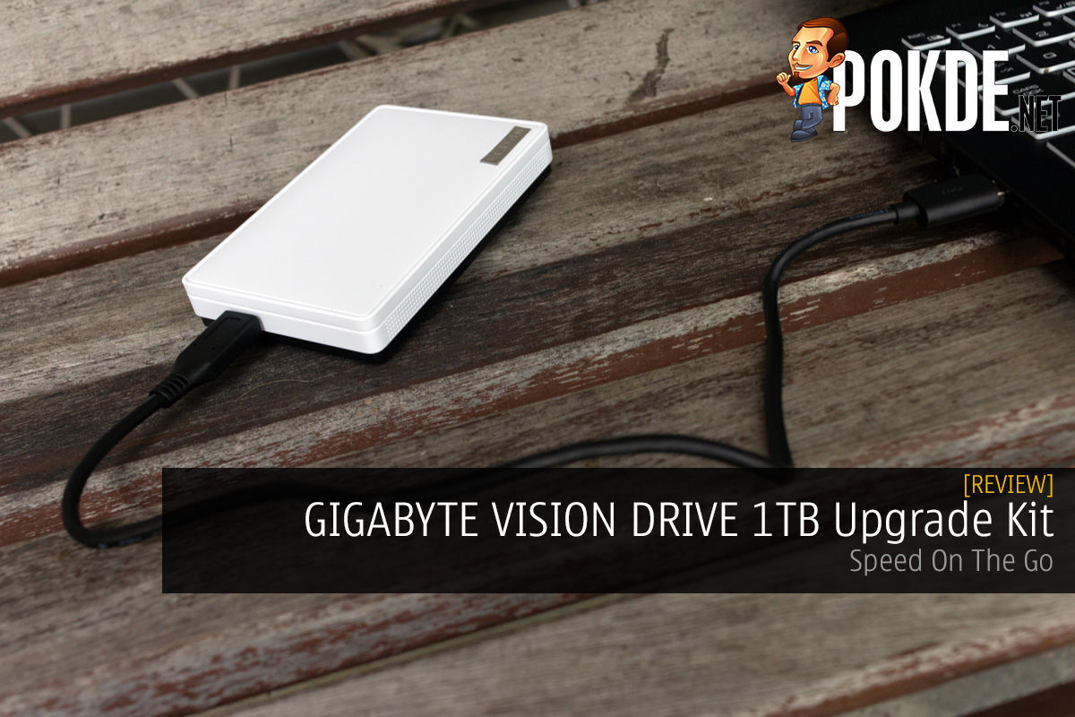 GIGABYTE VISION DRIVE 1TB Upgrade Kit Review — Speed On The Go 3