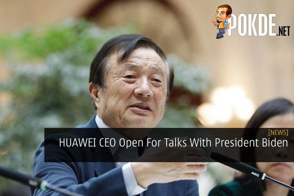 HUAWEI CEO Open For Talks With President Biden 23