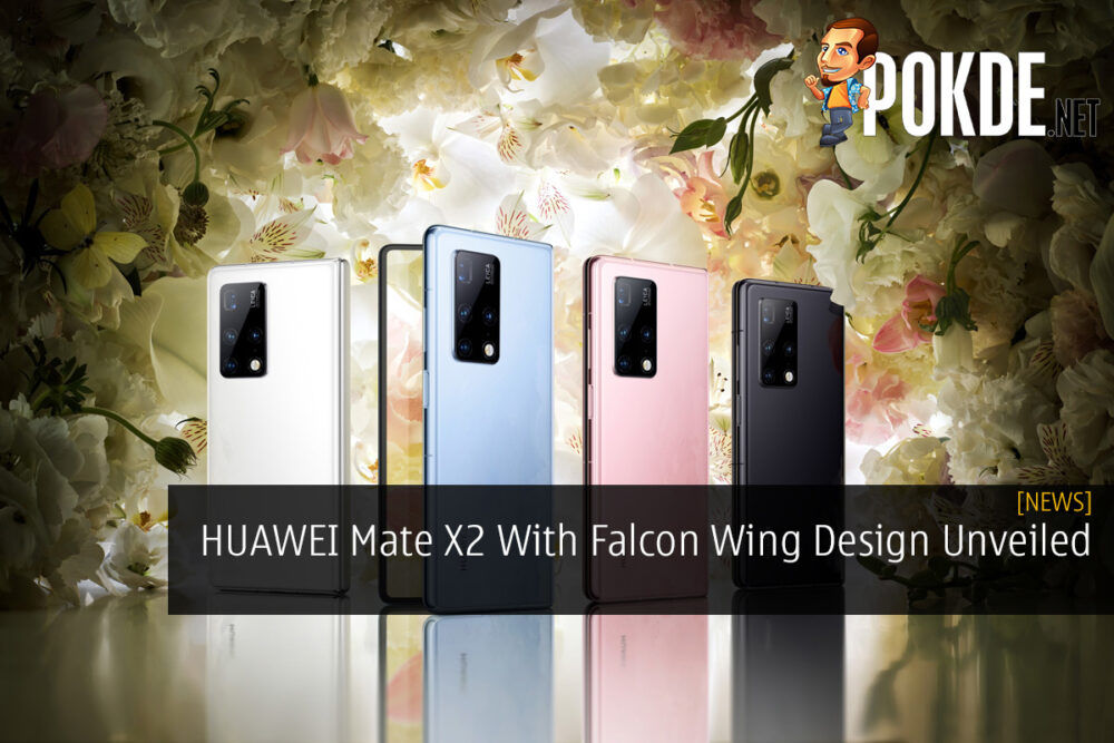HUAWEI Mate X2 With Falcon Wing Design Unveiled 22
