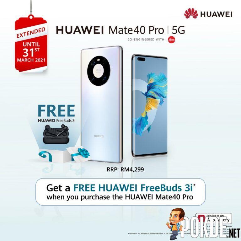 HUAWEI Mate40 Pro Free HUAWEI FreeBuds 3i