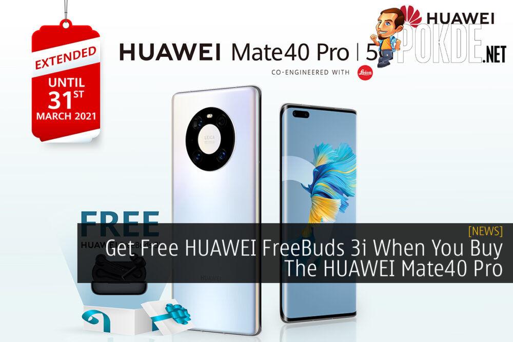 HUAWEI Mate40 Pro Free HUAWEI FreeBuds 3i cover