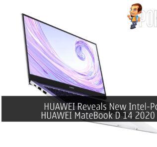 HUAWEI MateBook D 14 2020 cover