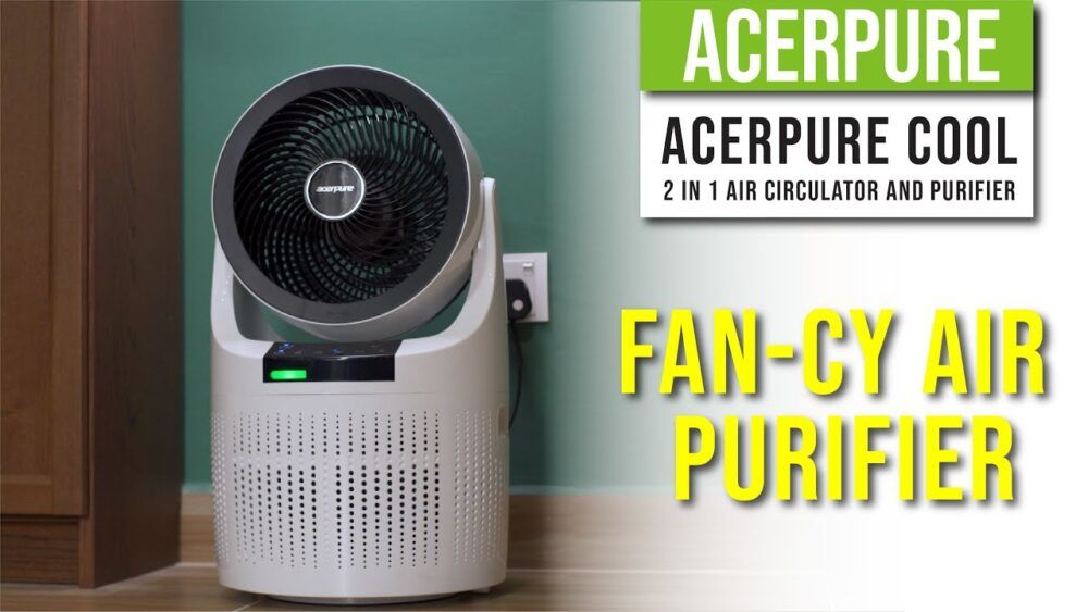 AcerPure Cool 2 in 1 Air Circulator and Purifier - Fan-cy Air Purifier 22