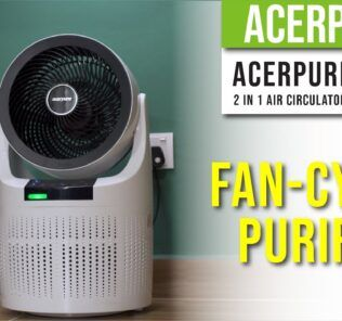 AcerPure Cool 2 in 1 Air Circulator and Purifier - Fan-cy Air Purifier 25