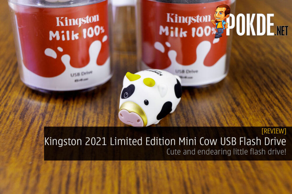 Kingston 2021 Limited Edition Mini Cow USB Flash Drive review cover