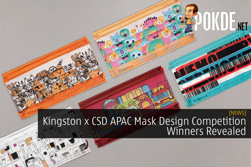 Kingston x CSD APAC Mask Design Competition Winners Revealed 26