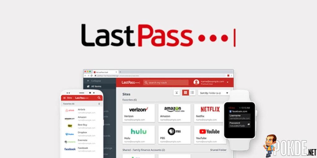 LastPass UI