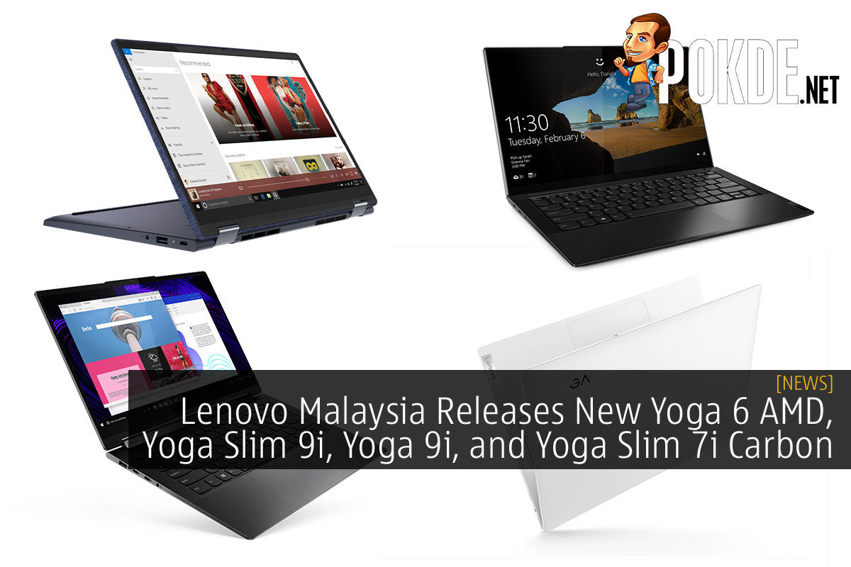 Lenovo New Yoga Series Laptops