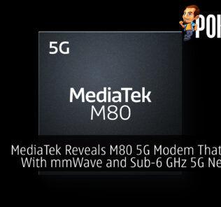 MediaTek M80 5G Modem cover