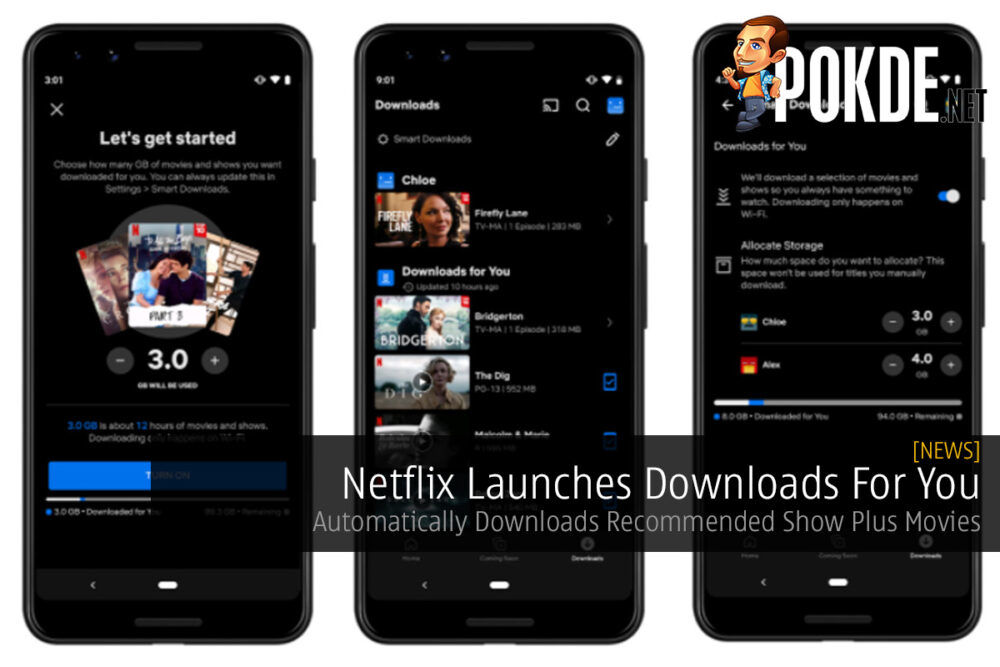 Netflix Launches Downloads For You — Automatically Downloads Recommended Show Plus Movies 22