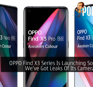 OPPO Find X3 Camera Leak cover