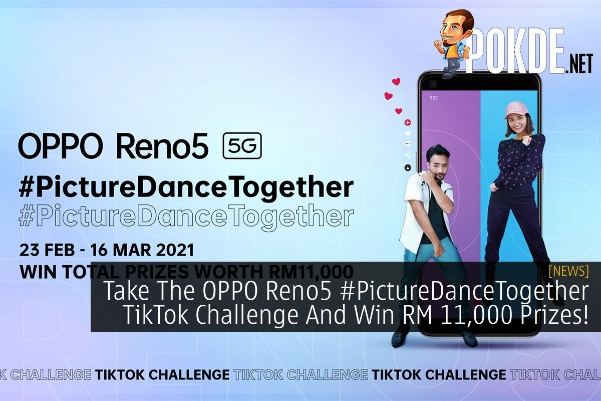 OPPO Reno5 #PictureDanceTogether TikTok Challenge cover