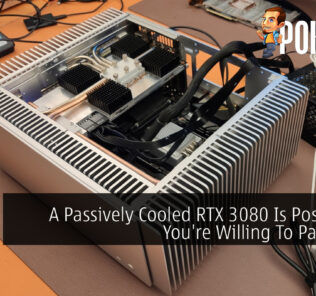 Passively cooled RTX 3080 cover